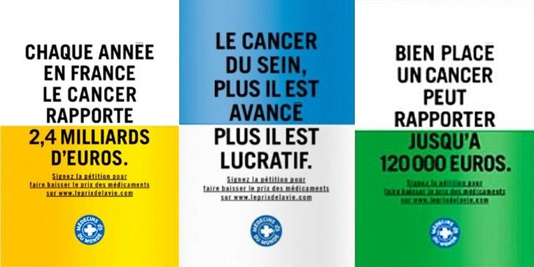 """Campagne de communication """"Médecin du monde""""."""